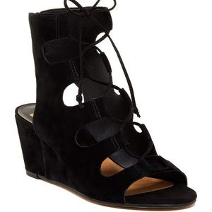 NWOT Dolce Vita Louise lace up wedge sandal